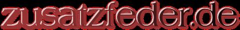 www.zusatzfeder.de - Federn für Anhängerbetrieb und hohen Hecklasten bei PKW-Logo
